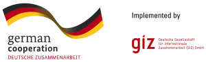 Coop Logo with GIZ Logo, Implemented by