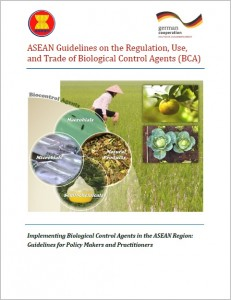 Cover_ASEAN Guidelines on the Regulation, Use, and Trade of Biological Control Agents (BCA)