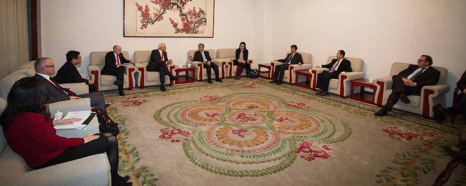 German agricultural delegation visit at the Chinese Academy of Agricultural Science - Photo: CAAS