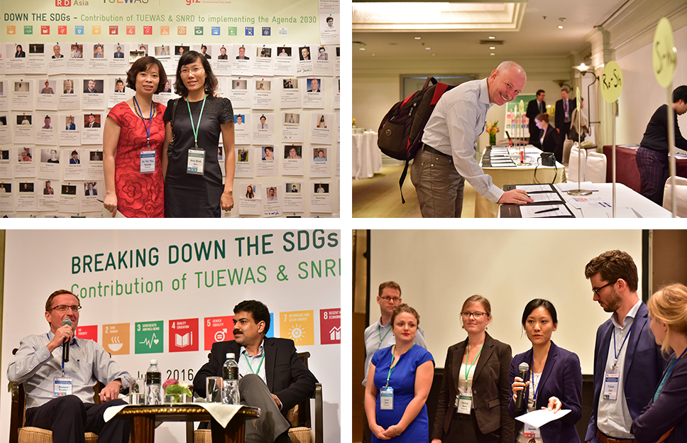 Championing the SDGs:  Contribution of TUEWAS and SNRD to Implementing the Agenda 2030