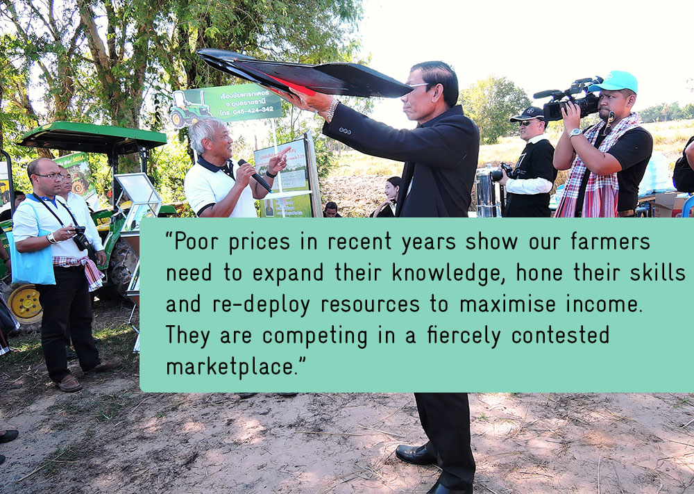 Drone-driven rice programme begins to reap rewards