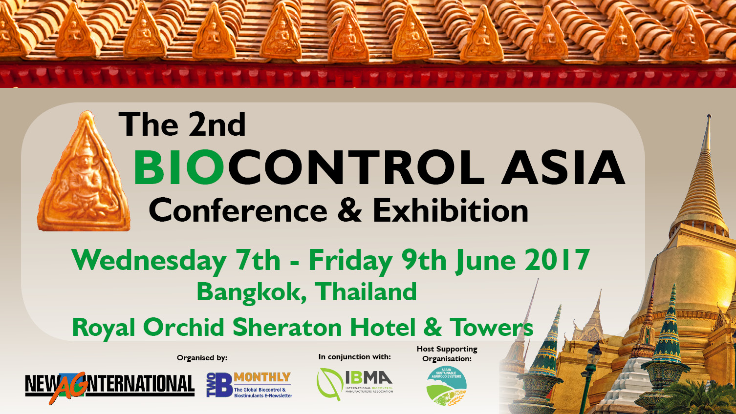 Registration is now open for the 2nd Biocontrol Asia Conference and Exhibition!
