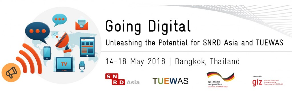Joint Conference SNRD Asia & TUEWAS: Registration is now